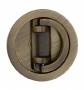 Harmonikaajtó-kagyló súrolt bronz